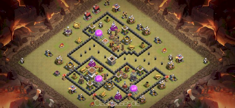 Köy Binası 8 Klan Savaşı Düzeni #3