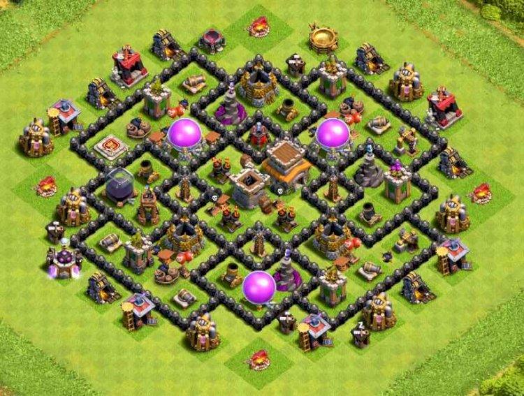 Köy Binası 8 Düzeni