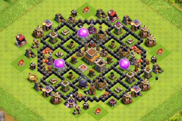 Köy Binası 8 Düzeni #58